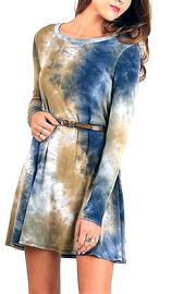 People Outfitter Tie Dye Dress - Front cropped