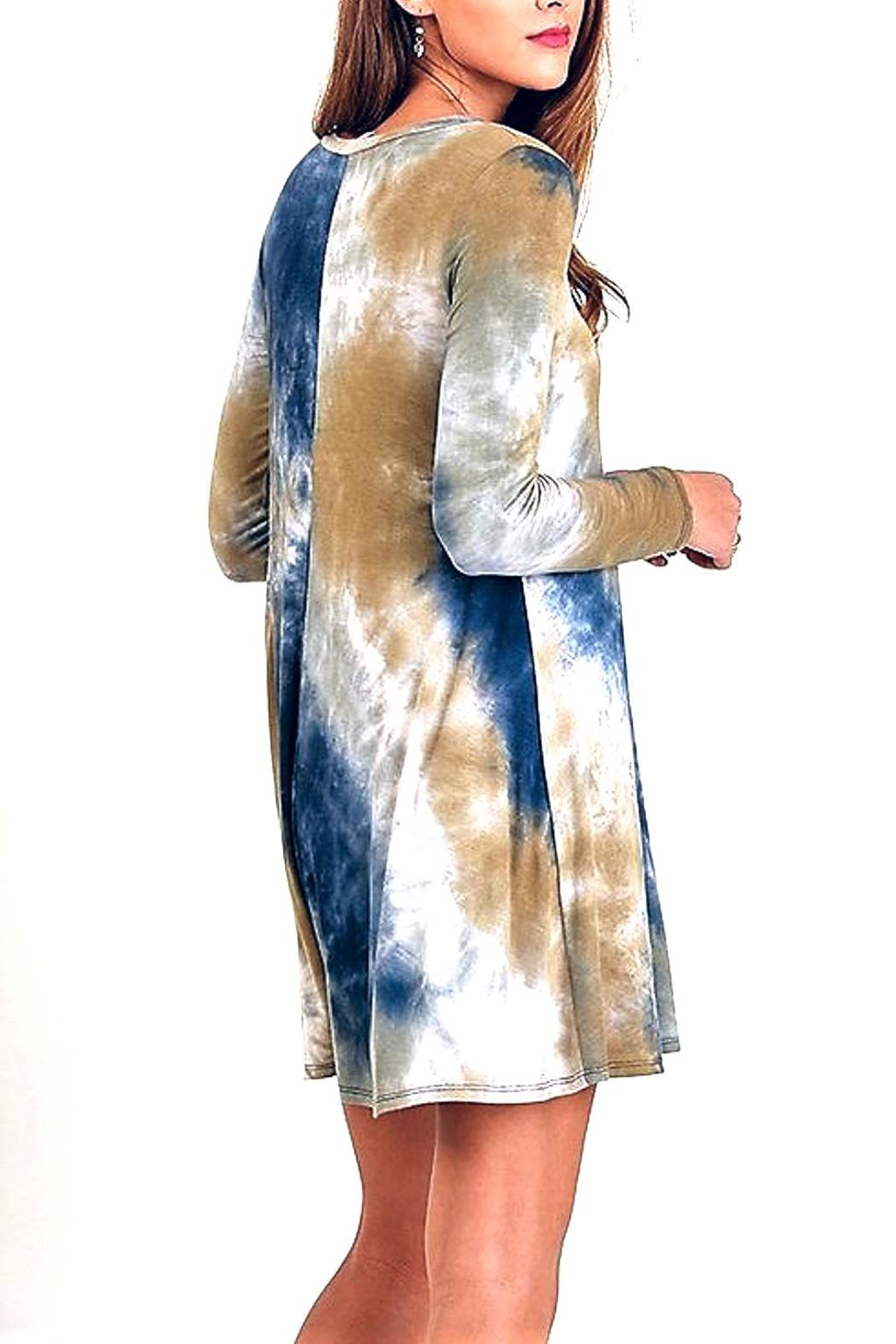People Outfitter Tie Dye Dress - Side Cropped Image