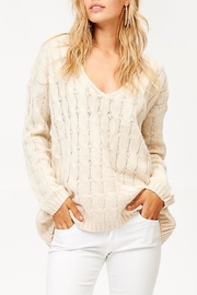 People Outfitter v-Neck Knit Sweater - Product Mini Image