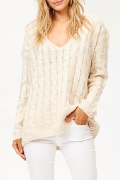 People Outfitter v-Neck Knit Sweater - Alternate List Image