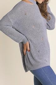 People Outfitter Vintage Knit Sweater - Back cropped