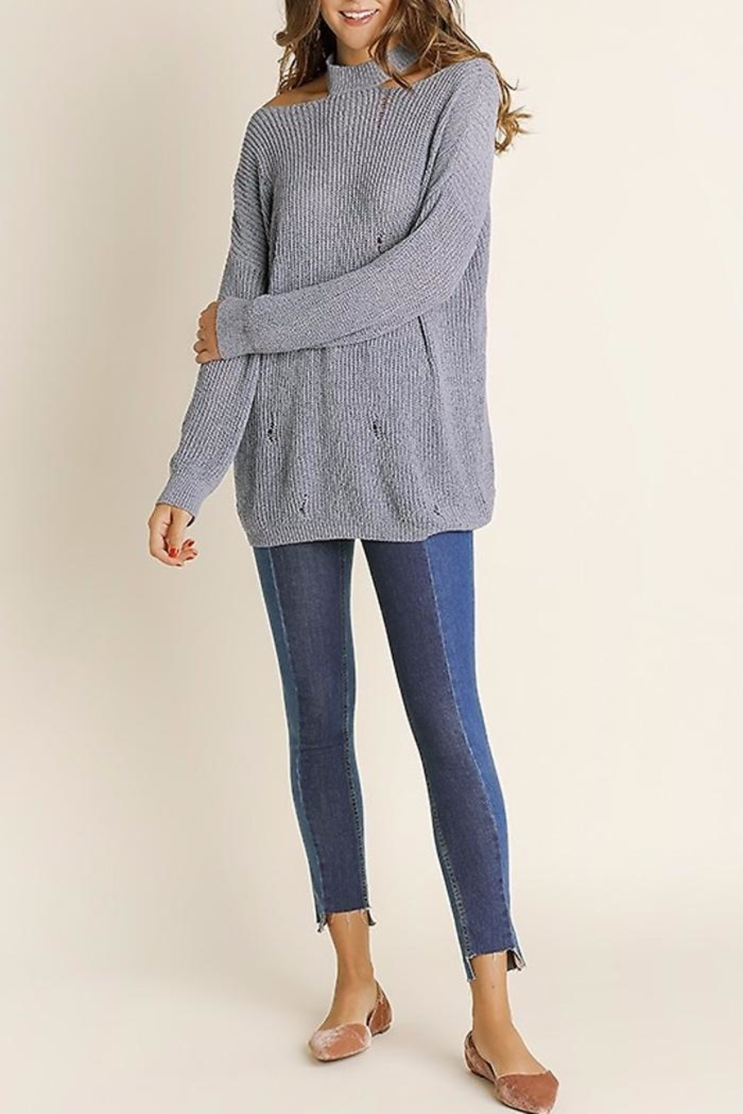 People Outfitter Vintage Knit Sweater - Main Image