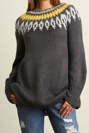 People Outfitter Vintage Inspired Sweater Tunic - Product Mini Image