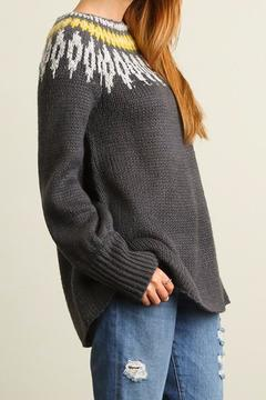 People Outfitter Vintage Inspired Sweater Tunic - Alternate List Image