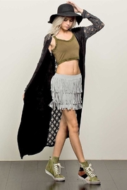 People Outfitter Vintage Washed Duster - Product Mini Image