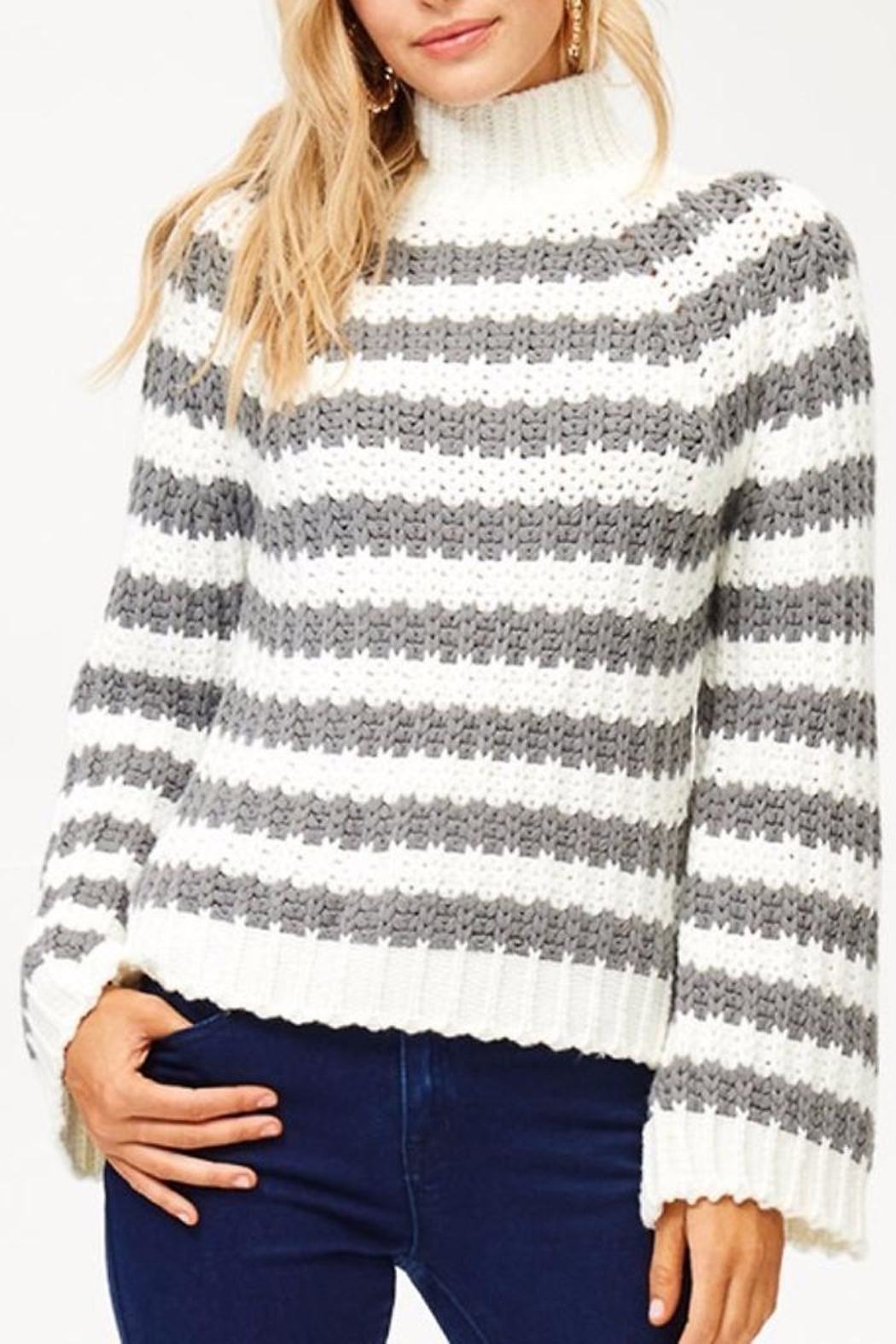 People Outfitter Wild Cat Sweater - Main Image