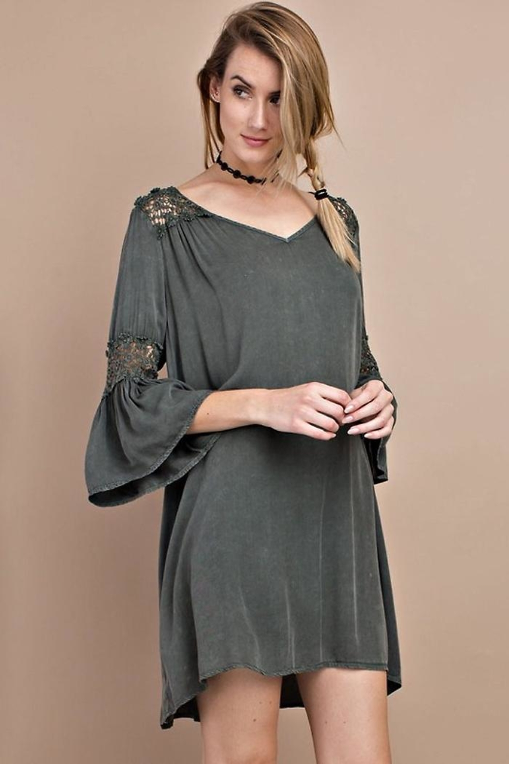 People Outfitter Wind Willow Dress - Front Full Image
