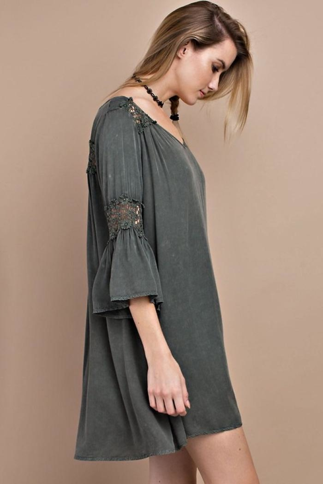 People Outfitter Wind Willow Dress - Side Cropped Image