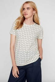 People Tree Cat Print Tee - Front cropped