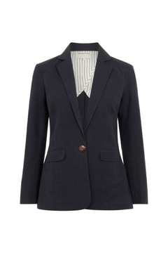 People Tree Ida Jacket Navy - Alternate List Image