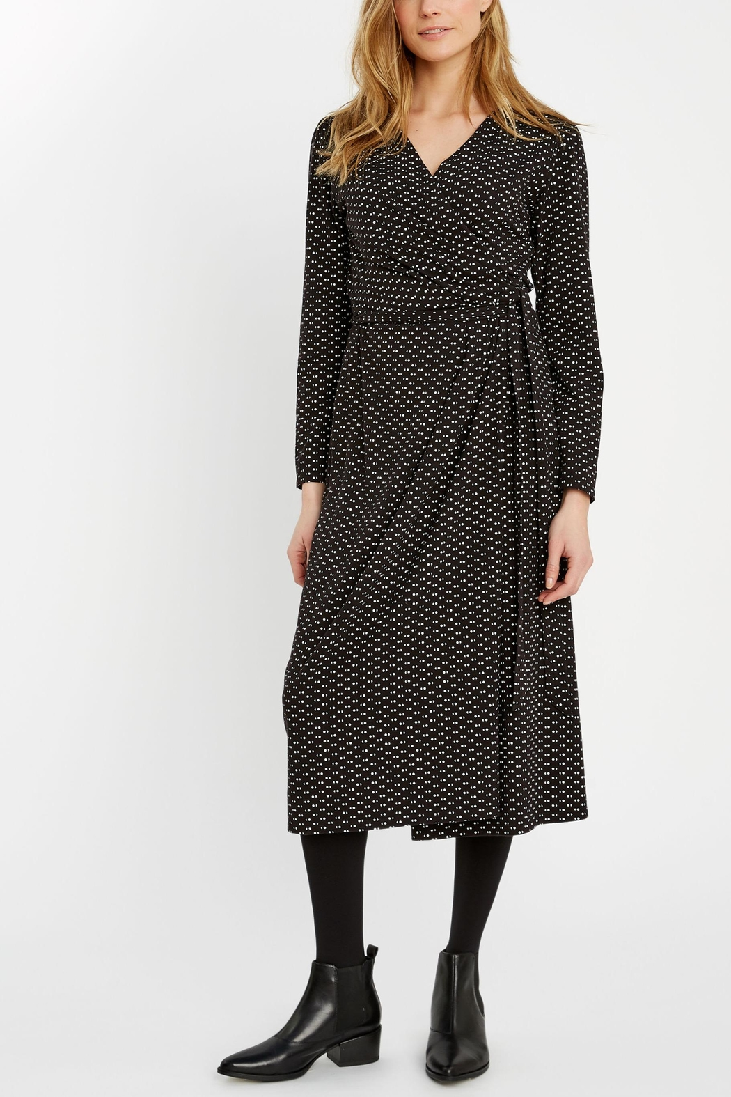 People Tree Imogen Wrap Dress - Main Image