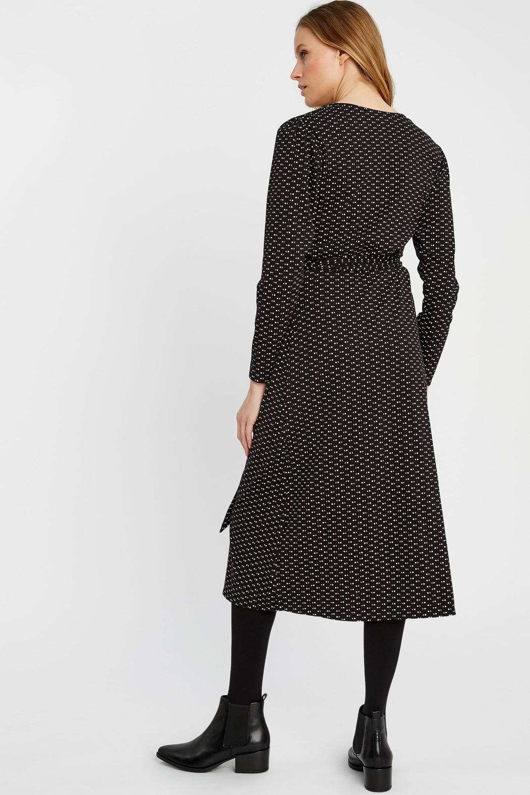 People Tree Imogen Wrap Dress - Side Cropped Image