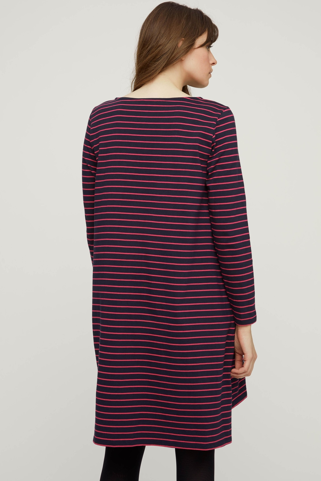 People Tree Striped Tunic - Side Cropped Image