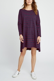 People Tree Striped Tunic - Front cropped