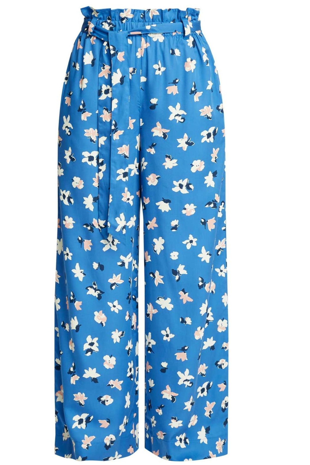 People Tree Susie Floral Trousers - Main Image