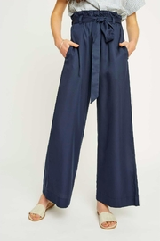 People Tree Susie Trousers Navy - Product Mini Image