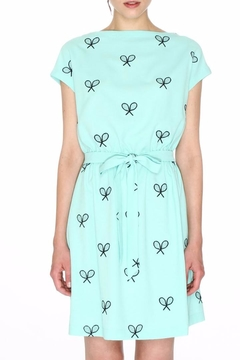 PepaLoves Embroidered Rackets Dress - Product List Image