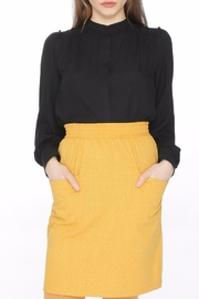 PepaLoves Mustard Pocket Skirt - Product Mini Image