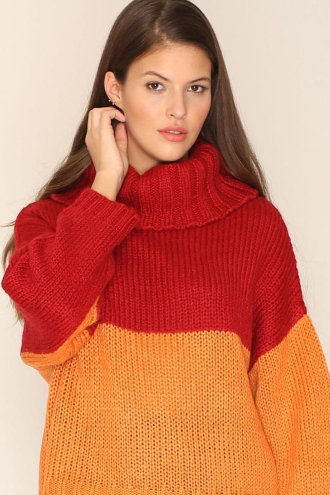 PepaLoves Strawberry Orange Sweater - Main Image