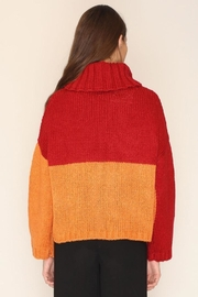 PepaLoves Strawberry Orange Sweater - Back cropped