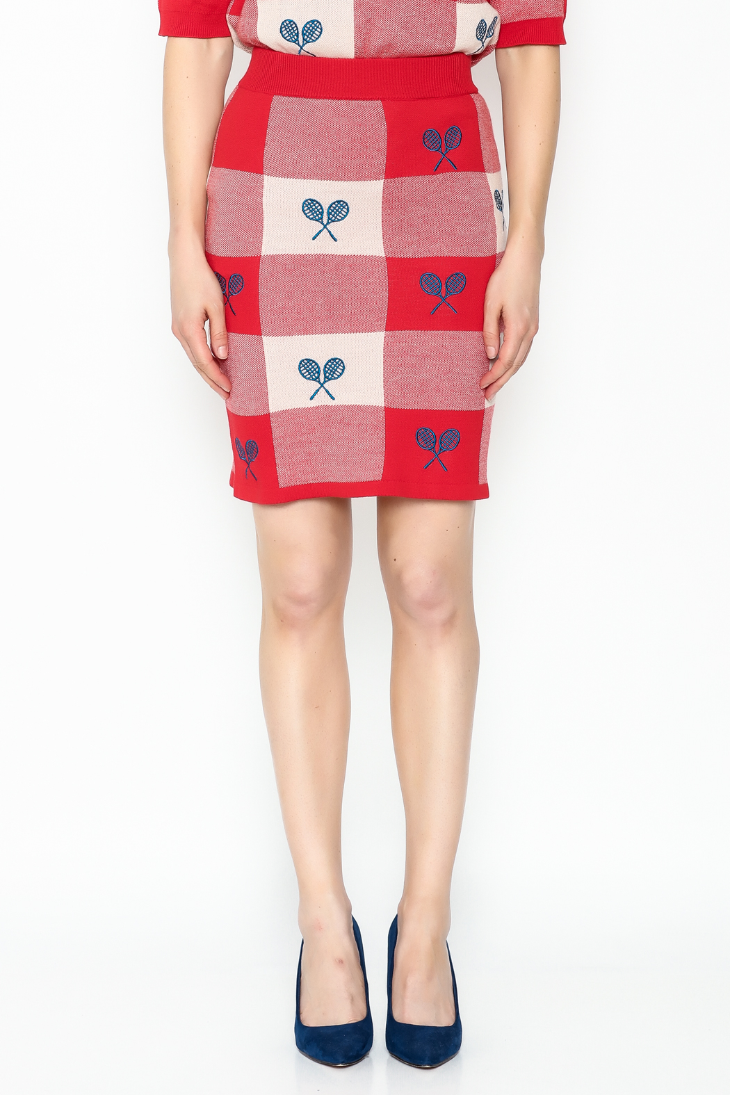 PepaLoves Tennis Skirt - Front Full Image