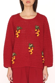 PepaLoves Tree Embellished Sweater - Product Mini Image