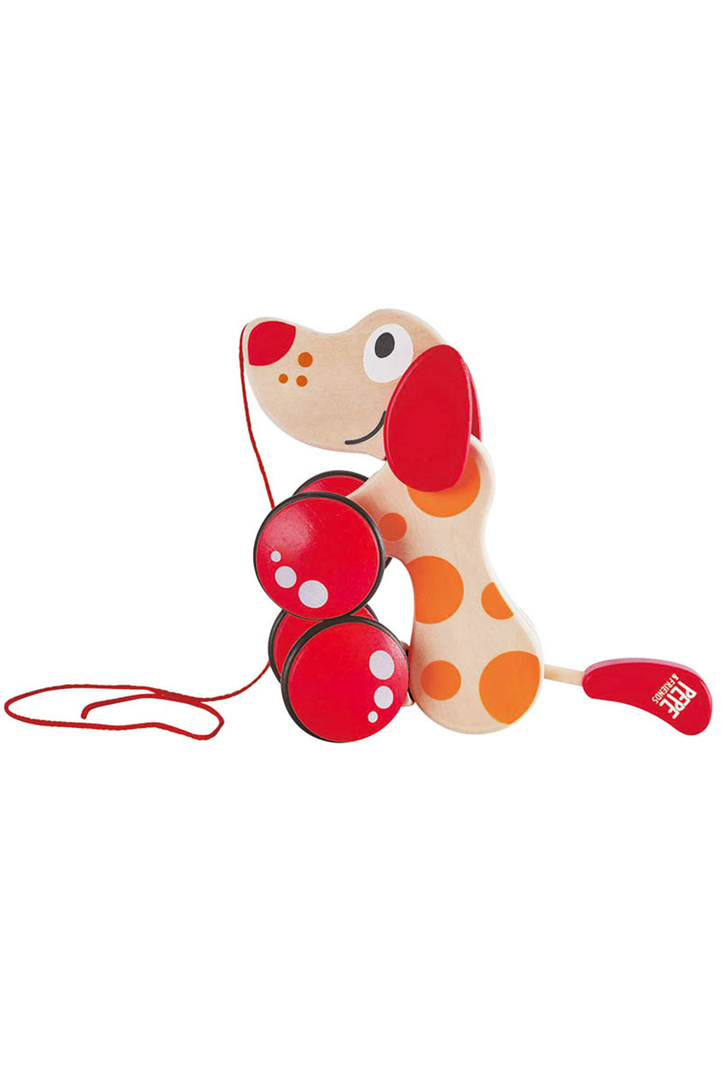 Hape  Pepe Pull Along Toy - Front Full Image