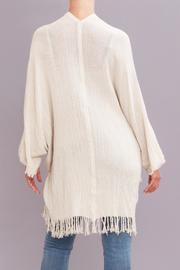 Pepita's Magic of the Moon Distressed Jute Wrap - Front full body