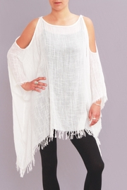 Pepita's Magic of the Moon Gauze Open Shoulder Top - Product Mini Image