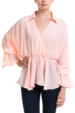 Ina Peplum Collar Blouse - Product List Image