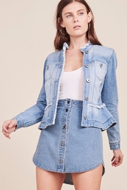 BB Dakota Peplum Denim Jacket - Product Mini Image