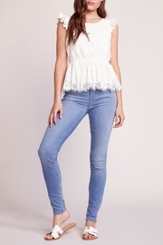 BB Dakota Peplum Lace Top - Product Mini Image