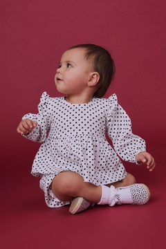 Lil Lemons Pepper Dot Blouse - Alternate List Image