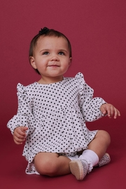 Lil Lemons Pepper Dot Blouse - Front cropped