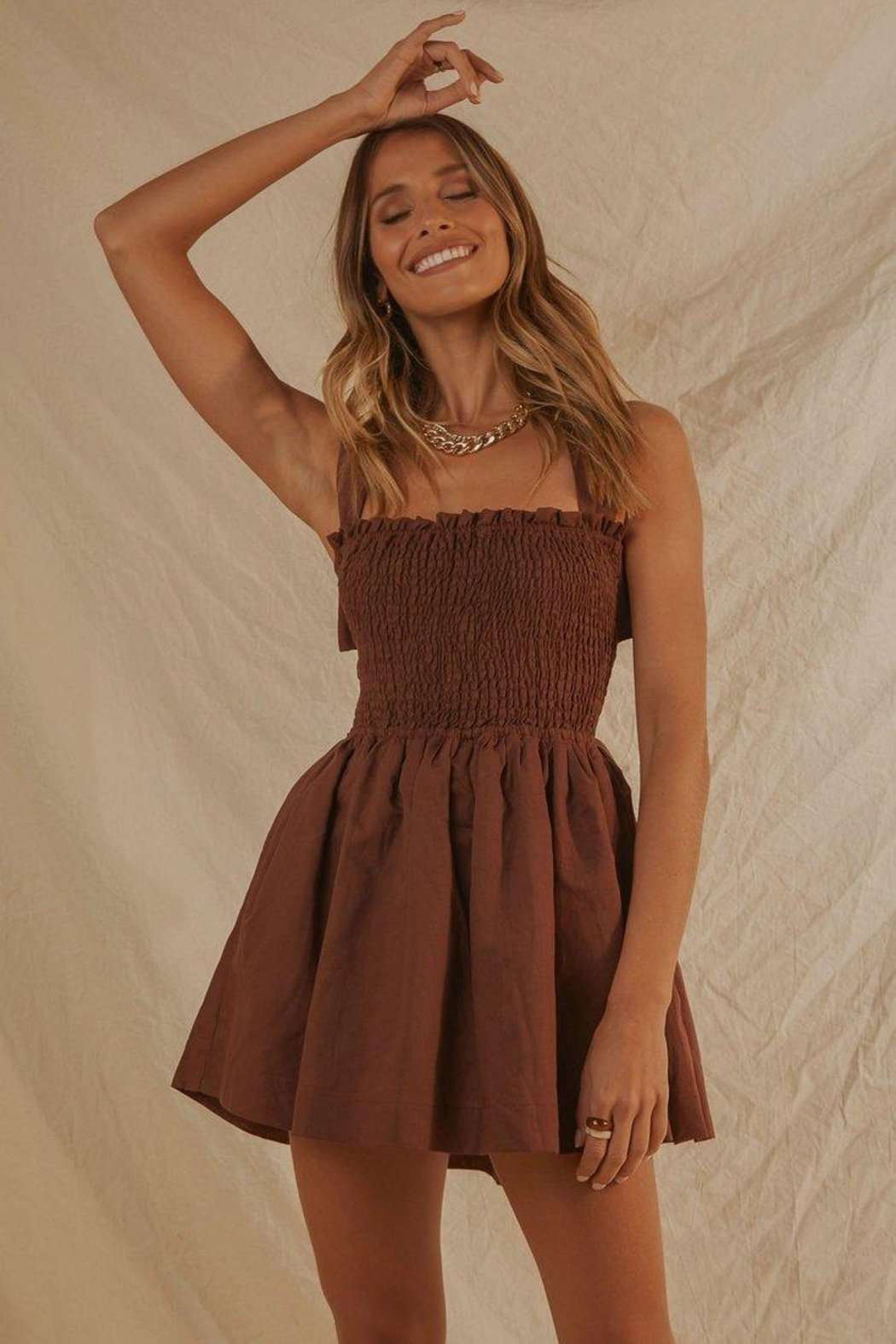 peppermayo European Towns Dress - Front Full Image