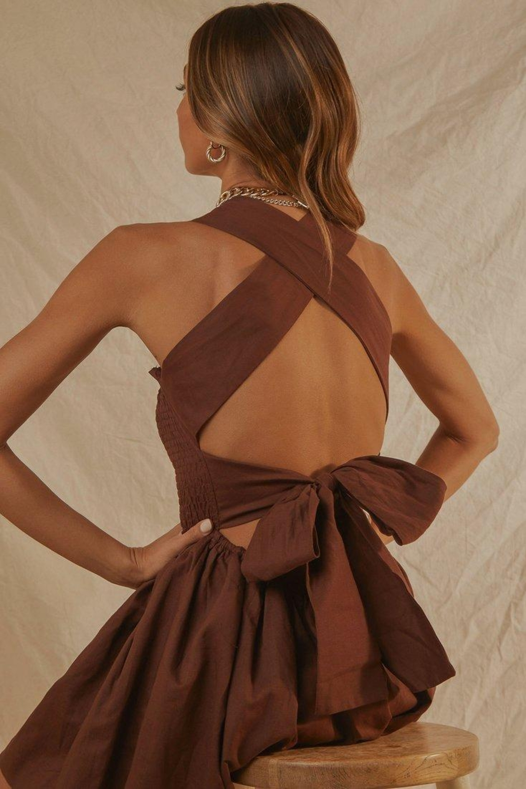 peppermayo European Towns Dress - Back Cropped Image