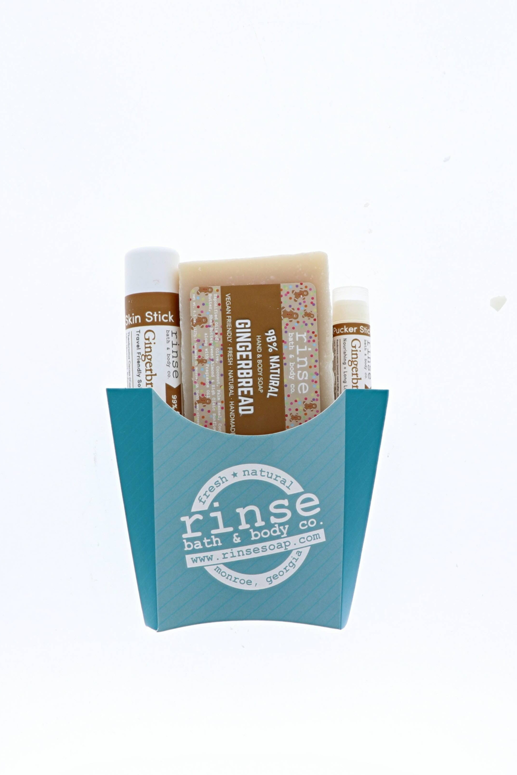 Rinse Bath & Body  Holiday Body Care Fry Bundle - Front Full Image