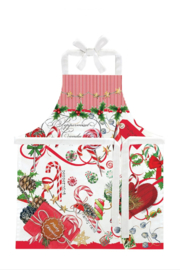 Michel Design Works Peppermint Child's Apron - Front cropped