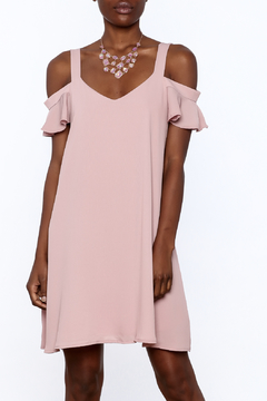 Shoptiques Product: Mauve Shift Dress