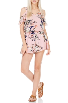 Peppermint Pink Floral Romper - Product List Image
