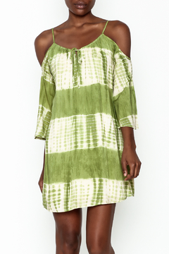 Peppermint Olive Tie Dye Dress - Product List Image