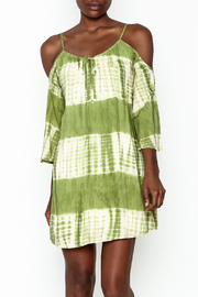 Peppermint Olive Tie Dye Dress - Product Mini Image