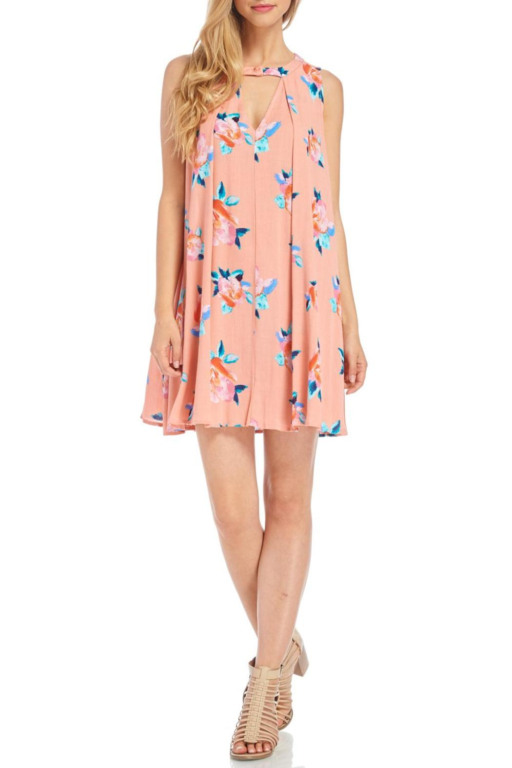 4b4d4e27a2684c Peppermint Peach Floral Dress from Wisconsin by Apricot Lane ...