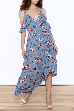 Shoptiques Product: Periwinkle Wrap Dress