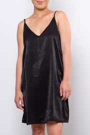 Peppermint Satin Slip Dress - Product Mini Image
