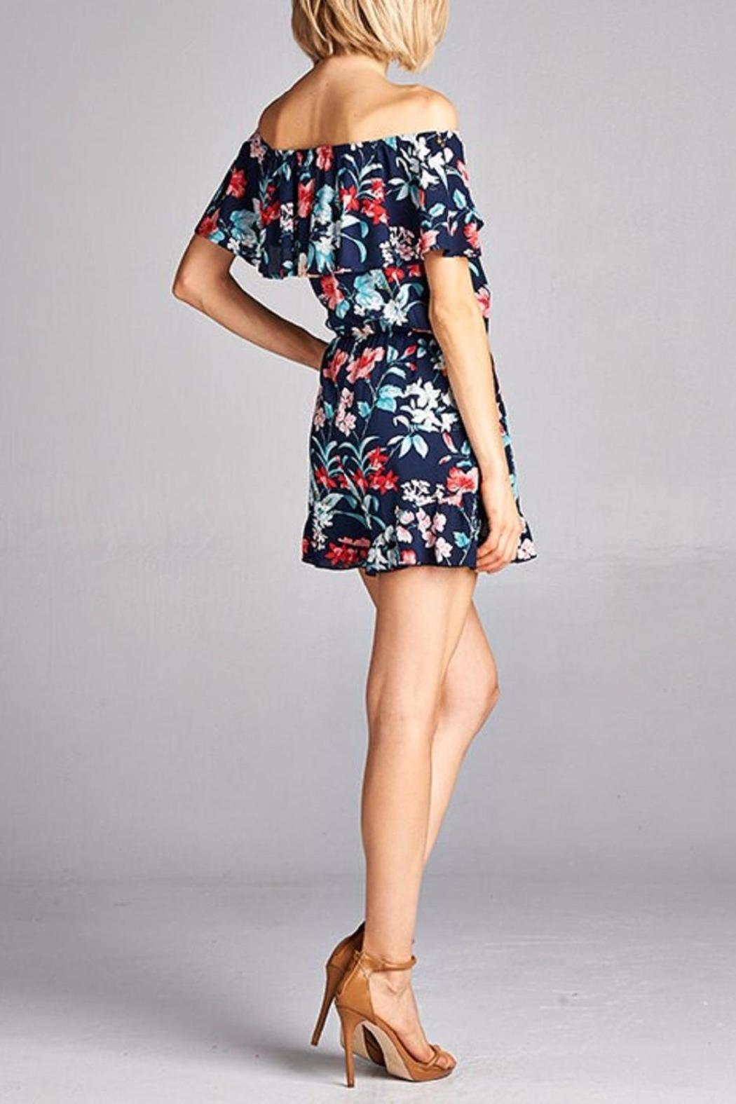 Peppermint The Jeanne Romper - Side Cropped Image