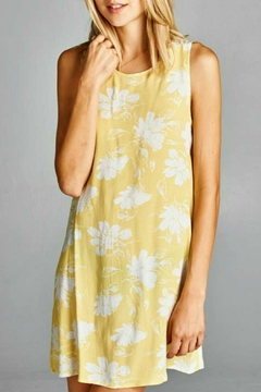 Shoptiques Product: Yellow Summer Dress