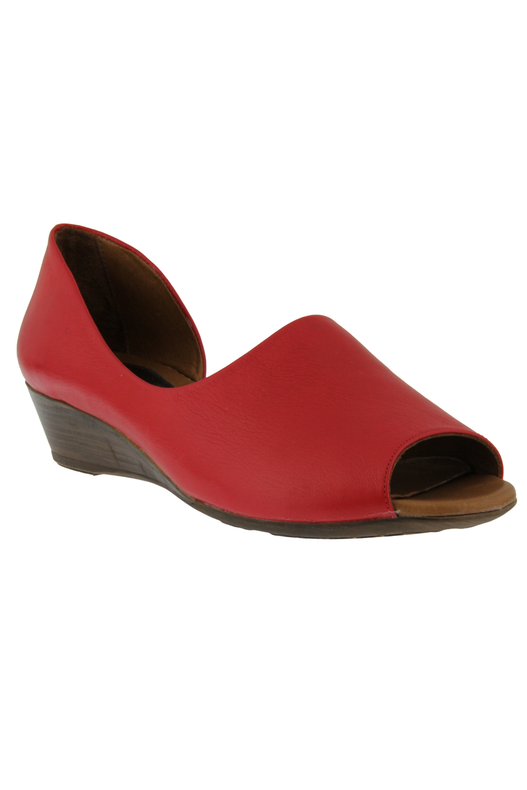 Spring Footwear Peppy Peep Toe - Front Cropped Image