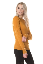 Love Tree Peral Sleeve Sweater - Front full body