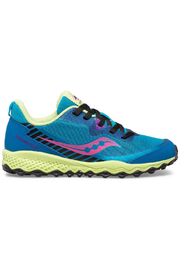 Saucony Peregrine 11 Shield Trail Sneaker - Turquoise - Product Mini Image